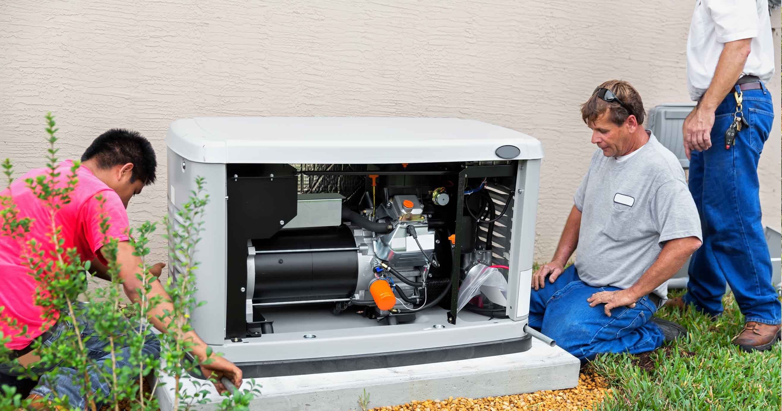 Installing an whole house emergency generator
