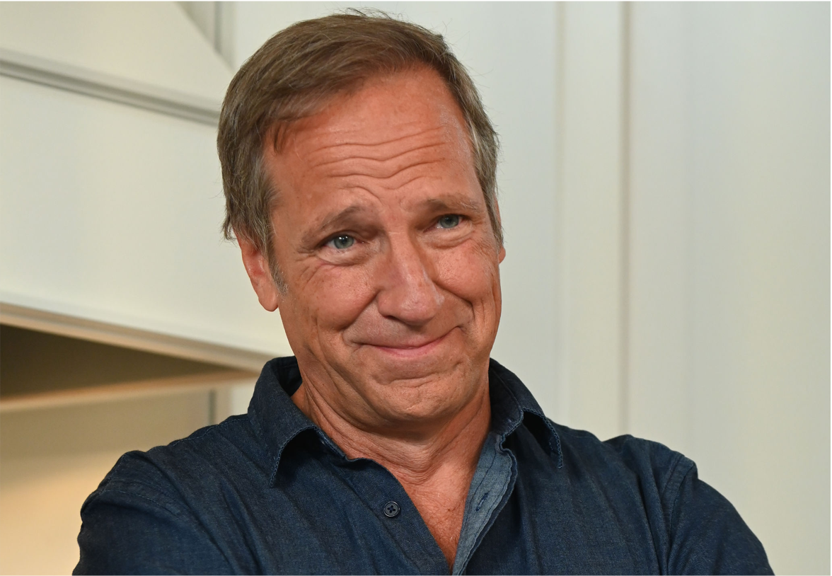 Mike Rowe Closeup