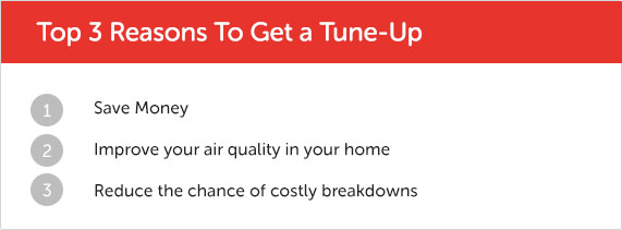Top 3 Reasons to Get a Tune Up
