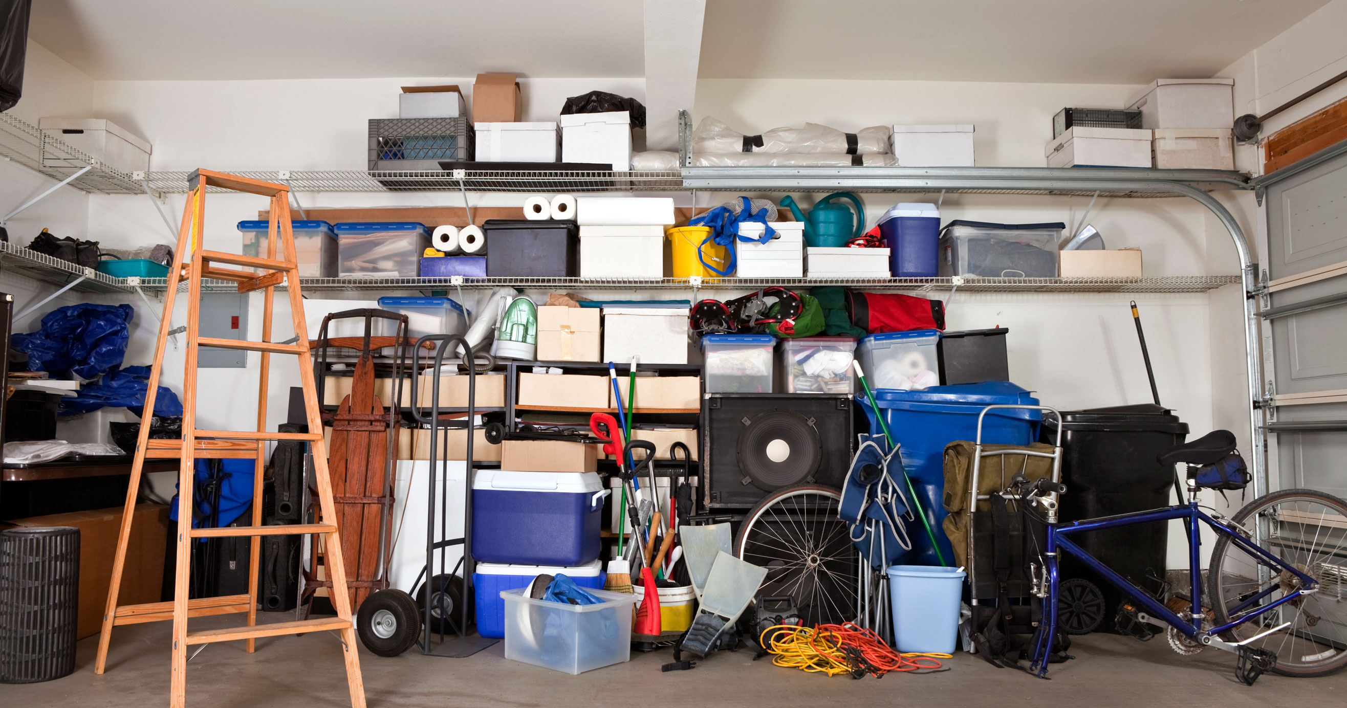Garage Organization: Hook and Hanger