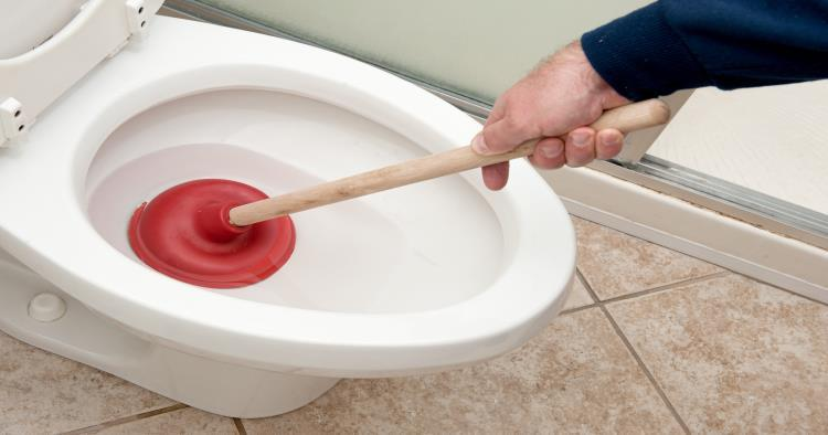 How To Unclog A Backed Up Toilet Homeserve