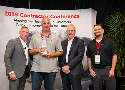 2019-HomeServe-Contractor-Conference-Diamond-Award-Winner