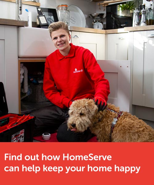 Find out how HomeServe can help keep your home happy