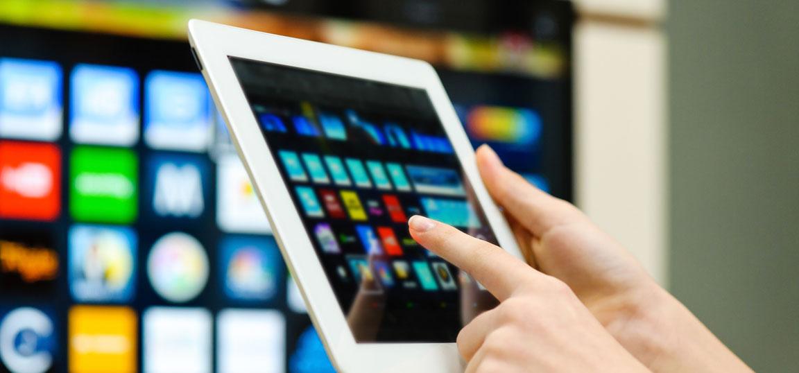 ipad controlling smart TV