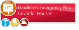 Landlords Emergency Plus Cover for Houses