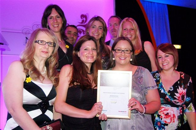 Employees at Marie Curie awards