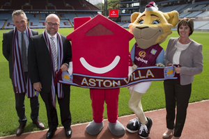 HomeServe announced as Aston Villa's official home assistance partner