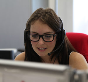 Kayleigh Willsher, Digital Live Chat Customer Service Representative