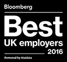 Bloomberg Best UK Employers 2016 Logo
