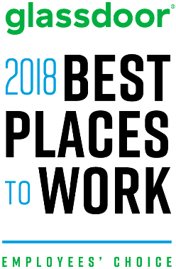 Glassdoor 2018 Best places to work. Employee